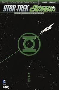 STAR TREK GREEN LANTERN #1 (OF 6)