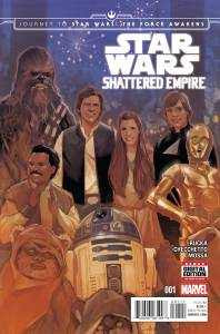 JOURNEY TO STAR WARS THE FORCE AWAKENS SHATTERED EMPIRE